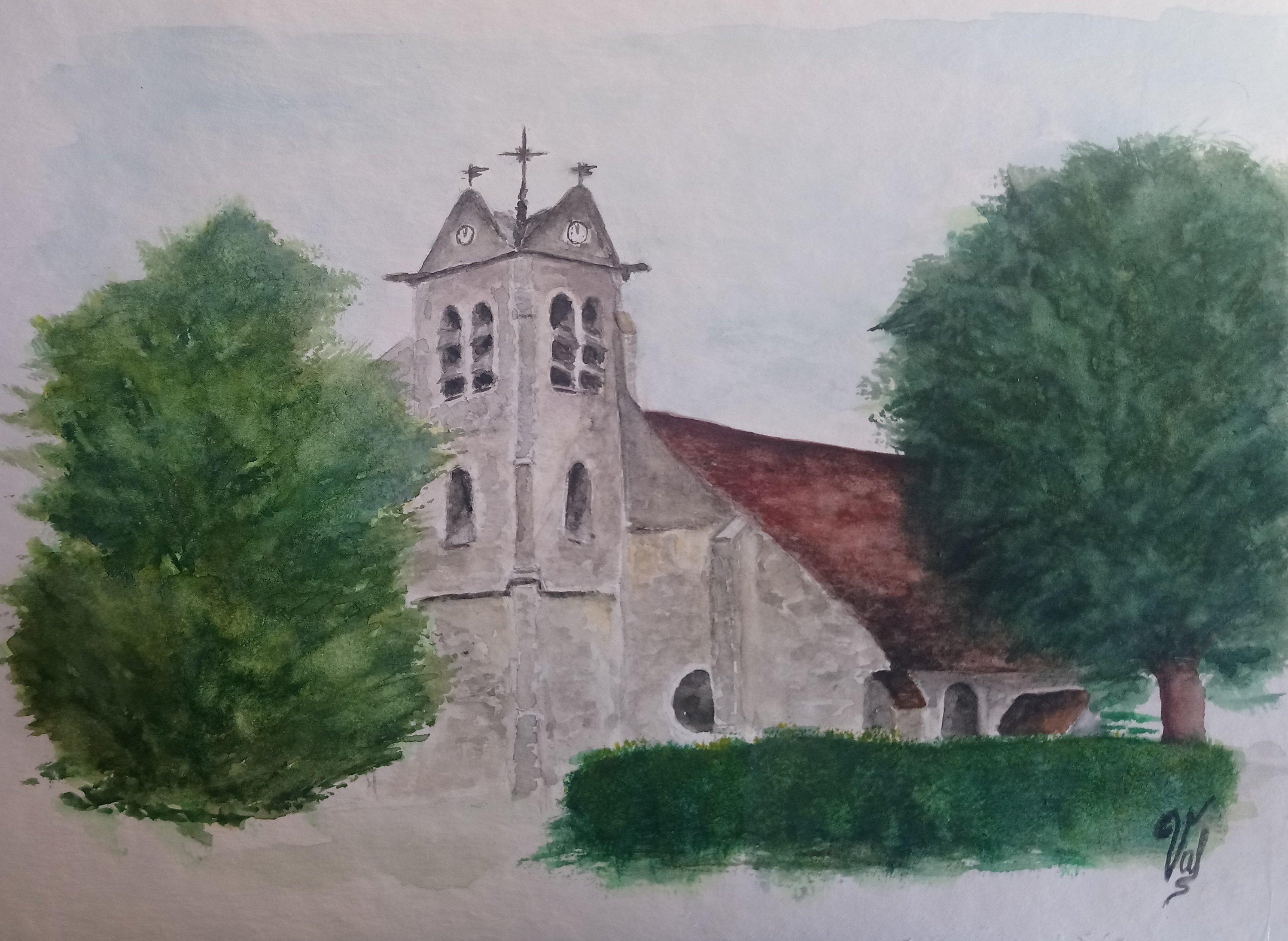 église de Sivry Courtry